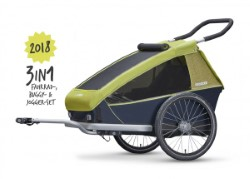 croozer kid for 2 modell 2018 fahrradanhaenger